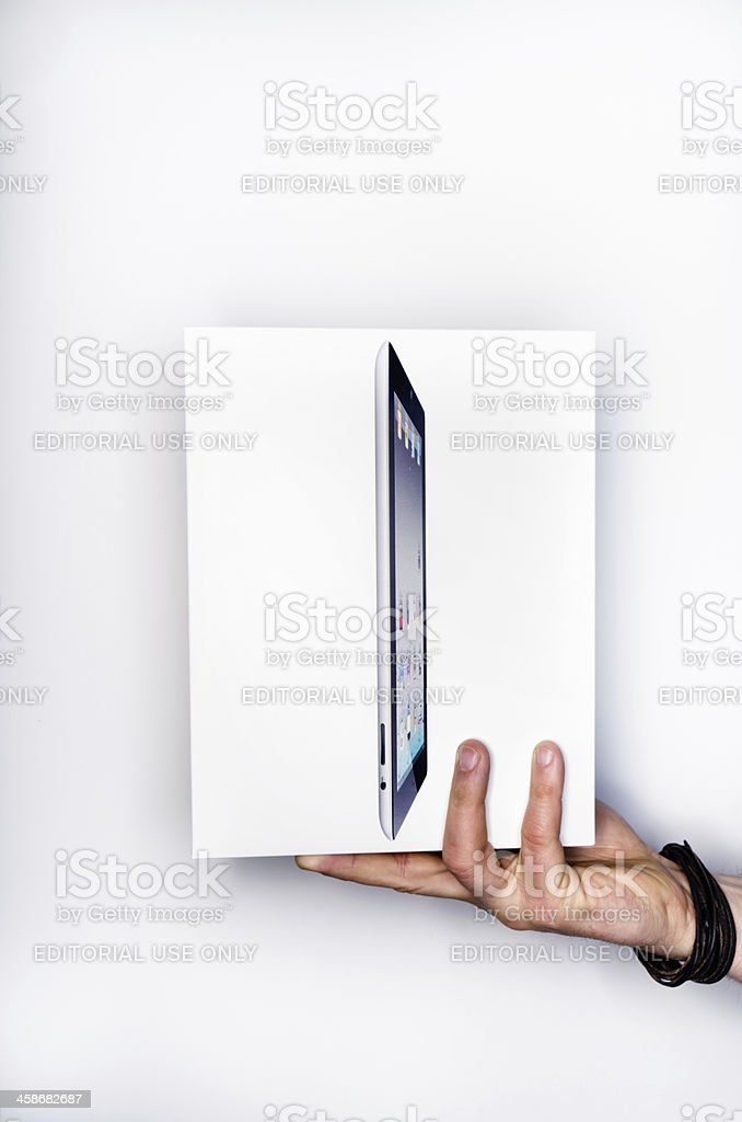 Apple iPad 3 royalty-free stock photo