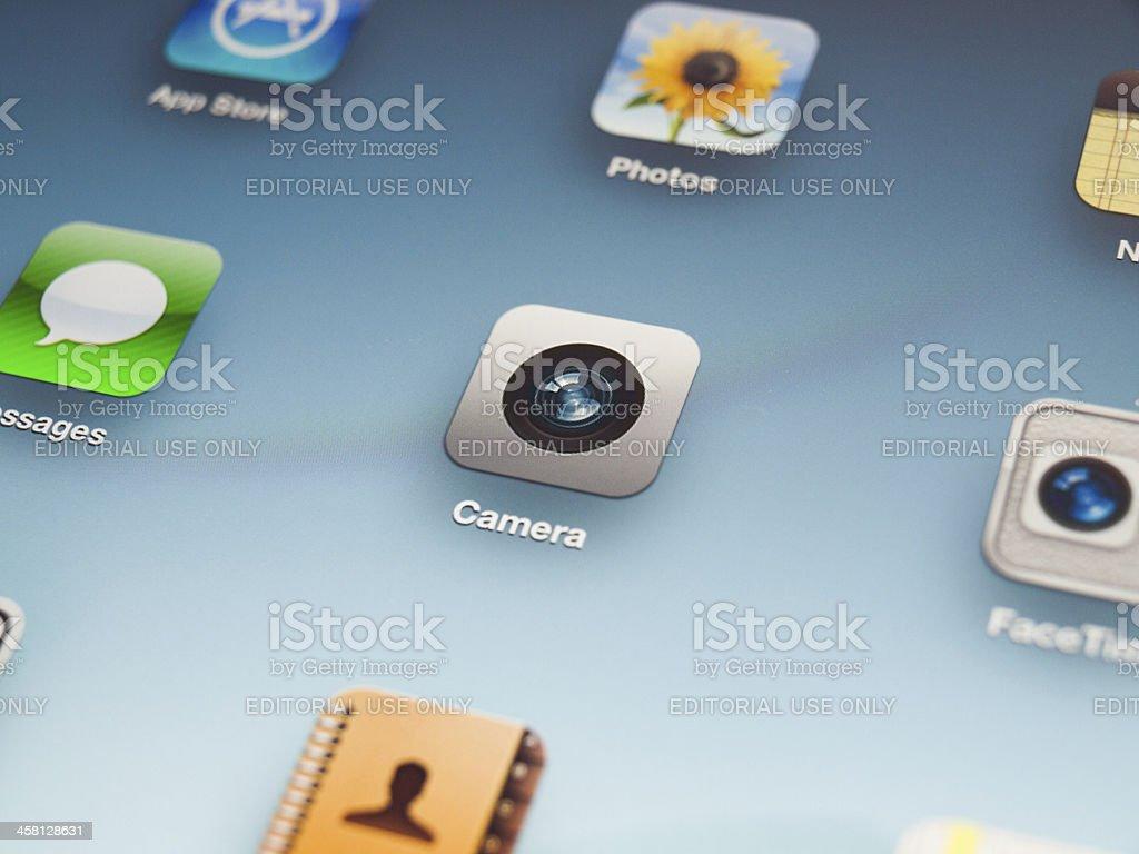 Apple iPad Camera royalty-free stock photo