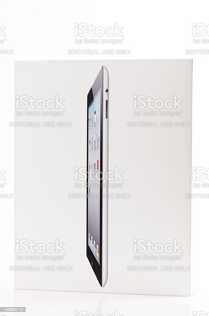 Apple iPad  Packaging Box royalty-free stock photo