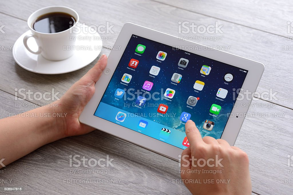 Apple iPad stock photo
