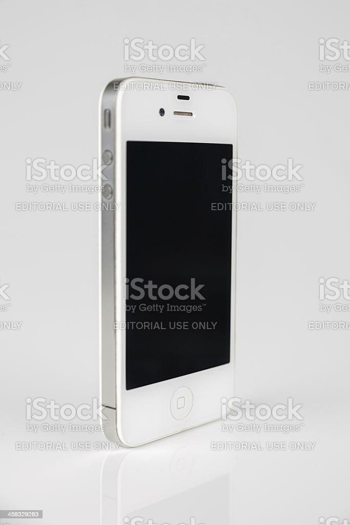 Apple iPhone 4 royalty-free stock photo