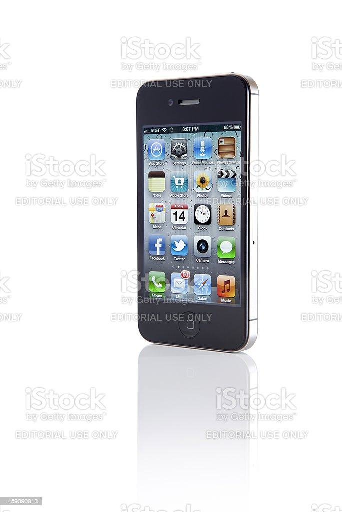 Apple iPhone 4s royalty-free stock photo