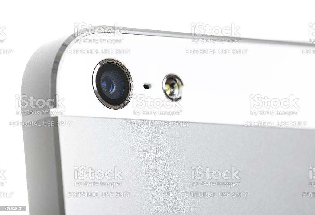 Apple iPhone 5 camera royalty-free stock photo