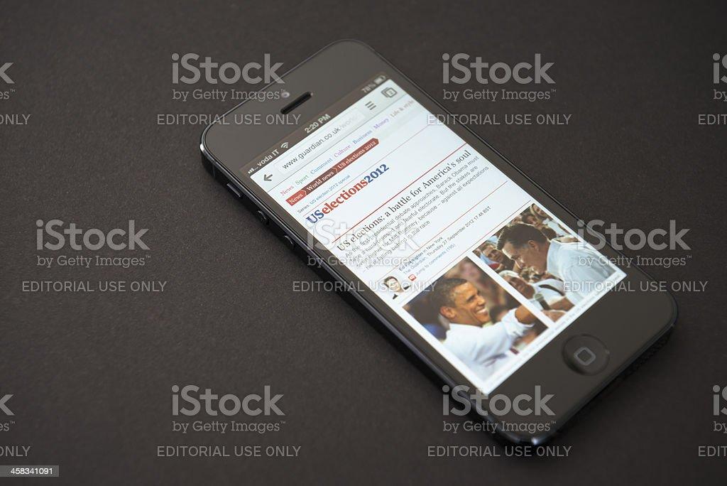 Apple Iphone 5 stock photo