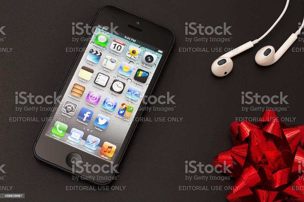 Apple iPhone 5 royalty-free stock photo