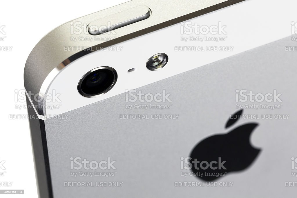 Apple iPhone 5 royalty-free stock photo