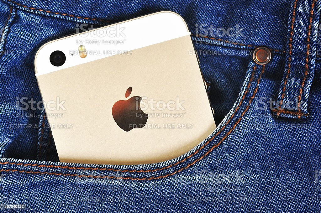 Apple iPhone 5s stock photo