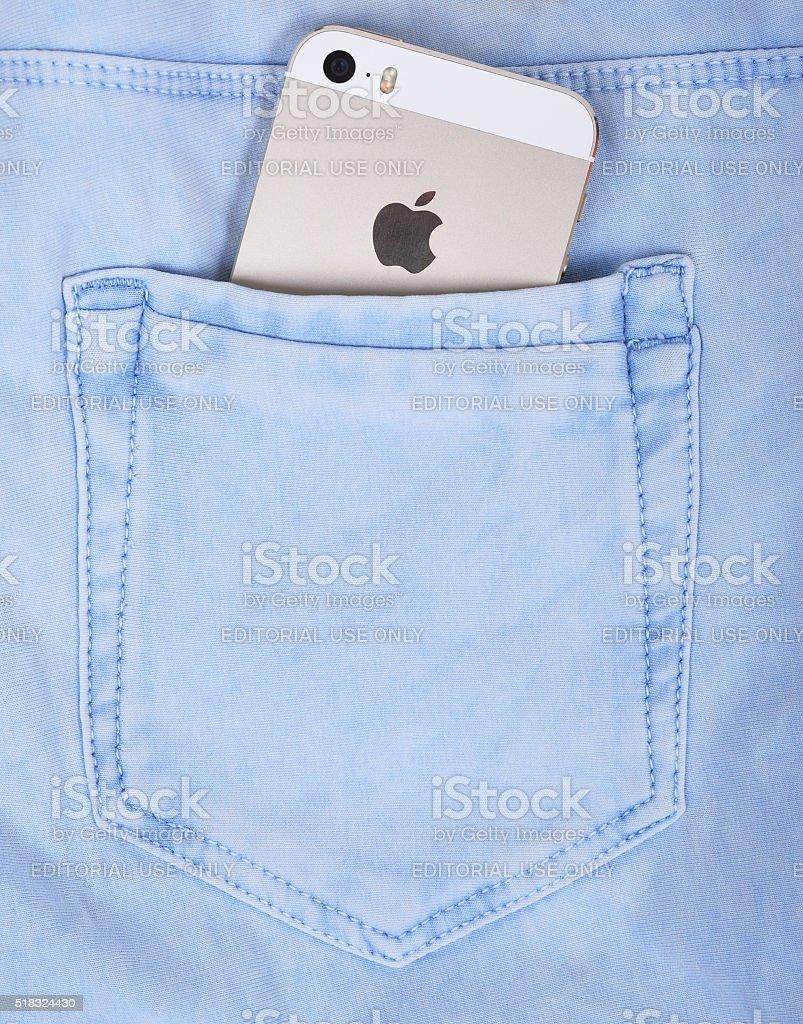 Apple iPhone 5s stock photo