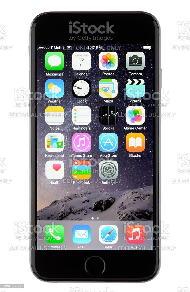 Apple iPhone 6 stock photo
