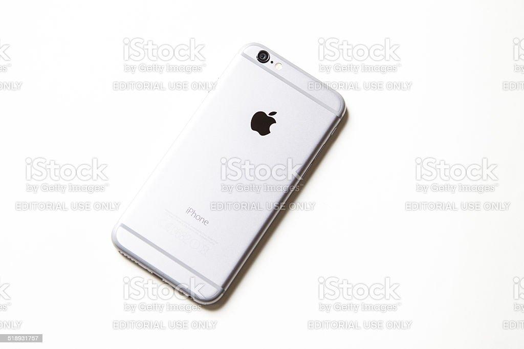 Apple iPhone 6 - Space Gray - 16GB stock photo