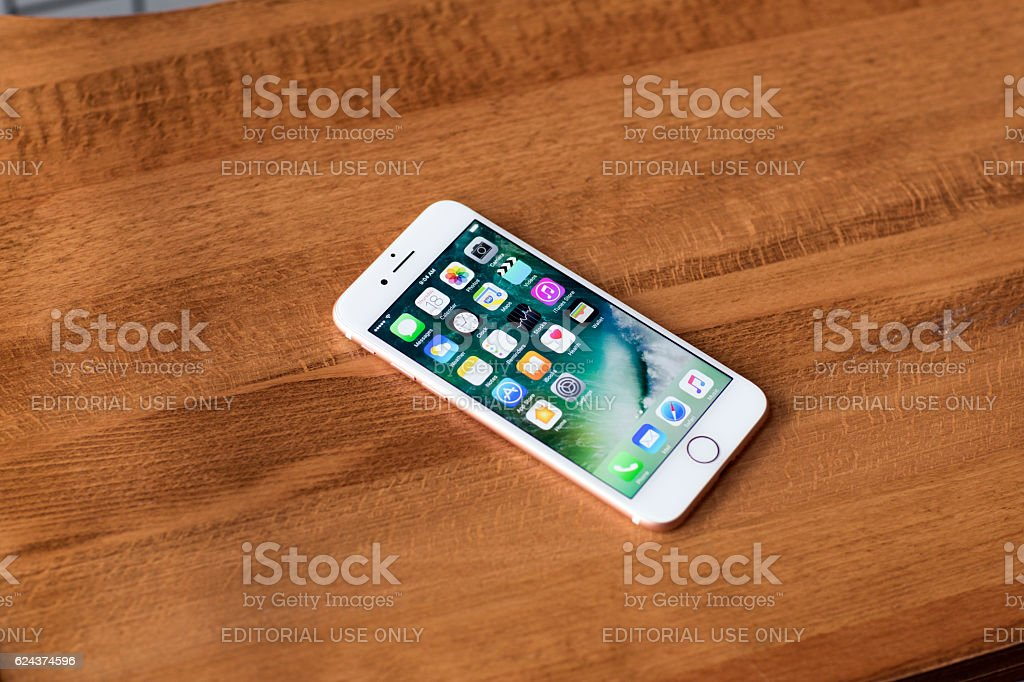 Apple iPhone 7 Regular stock photo