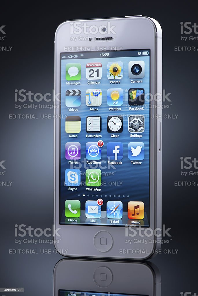 Apple iPhone5 royalty-free stock photo