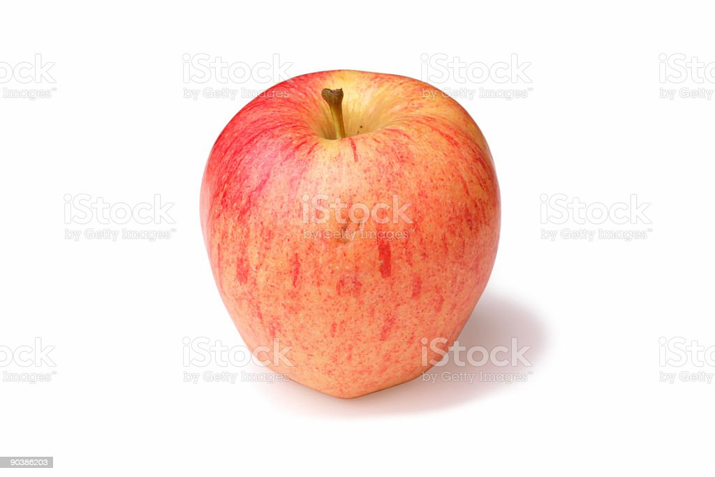 Apple isolated on white royalty-free stock photo