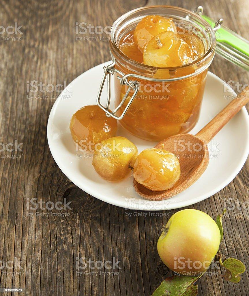 Apple jam royalty-free stock photo