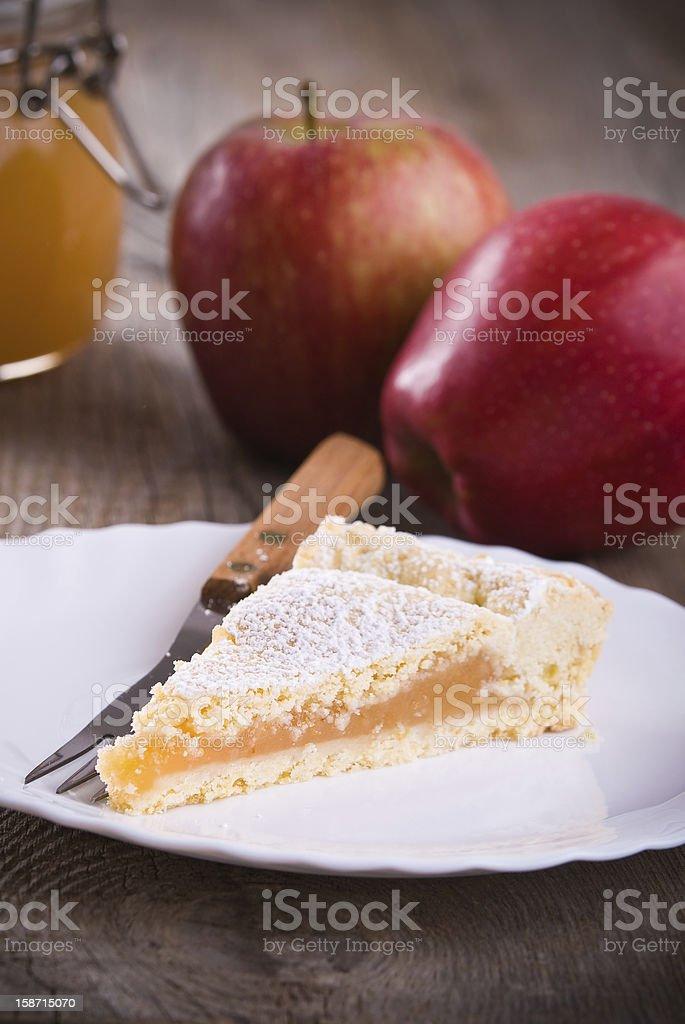 Apple jam tart royalty-free stock photo