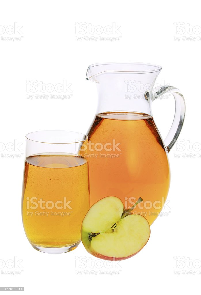 apple juice royalty-free stock photo