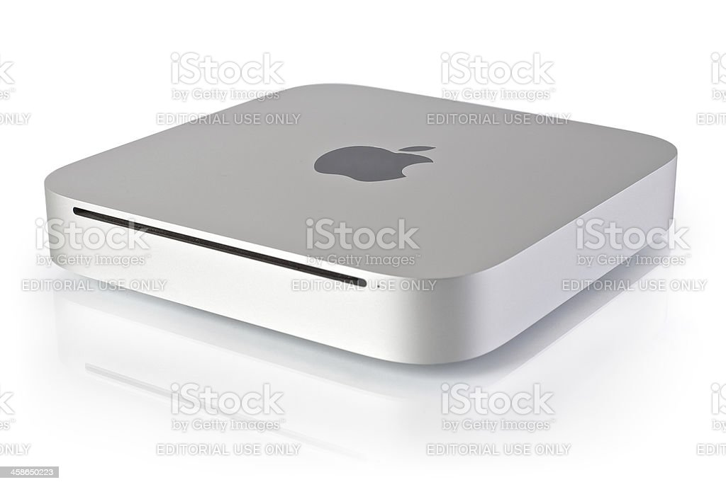 Apple Mac Mini (Mid 2010) MC270xx/A royalty-free stock photo