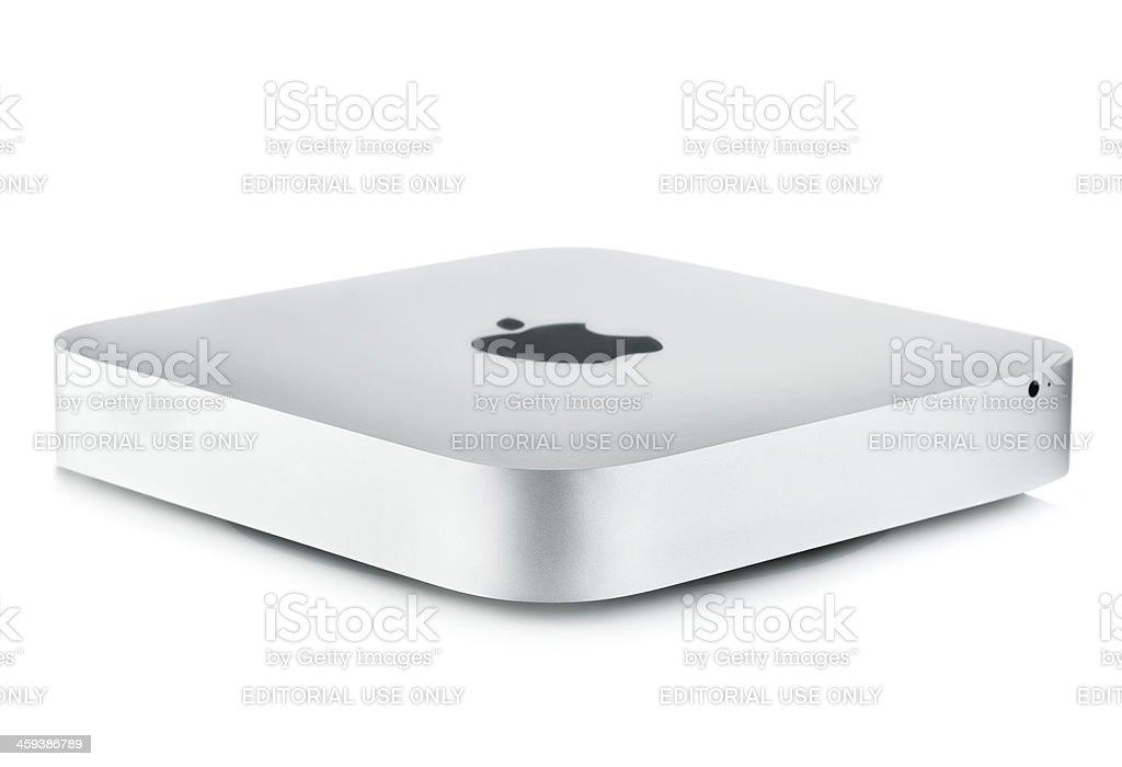 Apple Mac Mini royalty-free stock photo