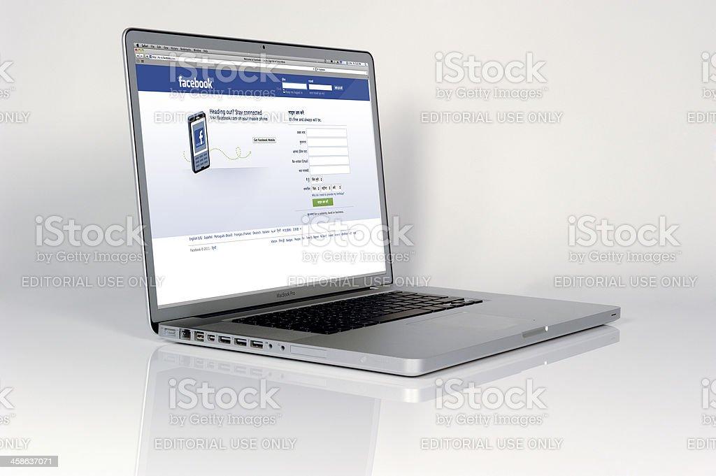 Apple Mac Powerbook 2011 royalty-free stock photo