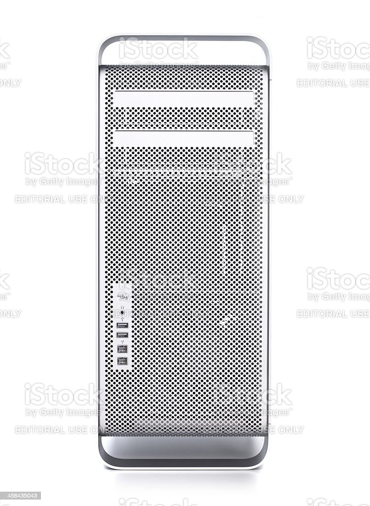 apple mac pro computer royalty-free stock photo