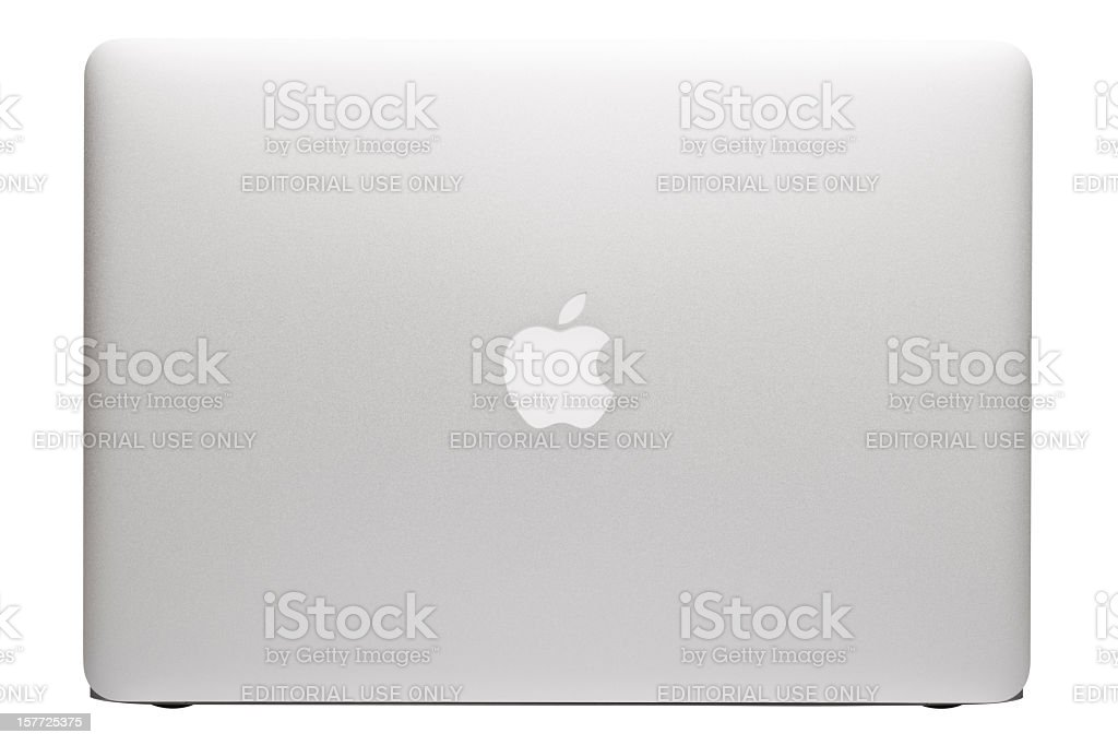 Apple MacBook Air laptop stock photo