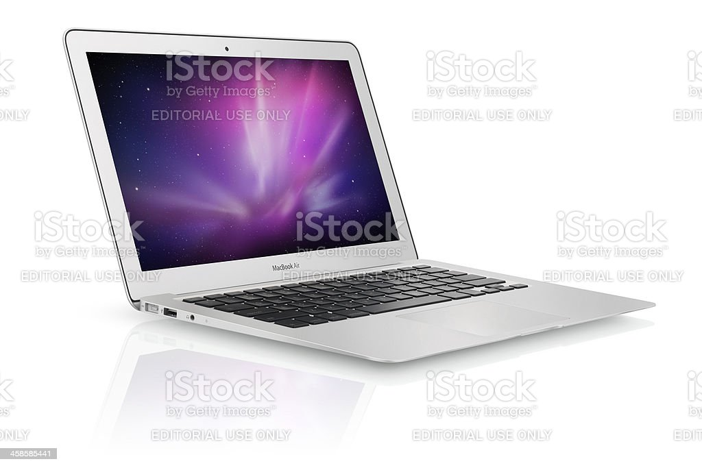 Apple - MacBook Air stock photo