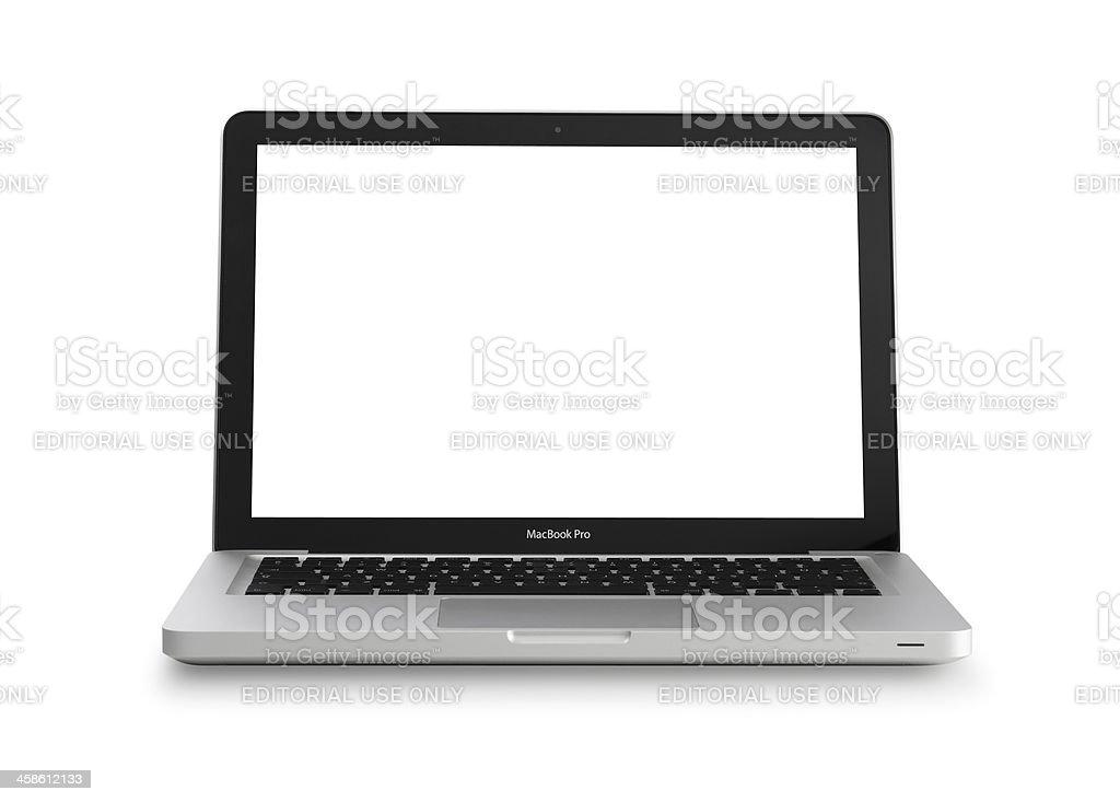 Apple MacBook Pro royalty-free stock photo