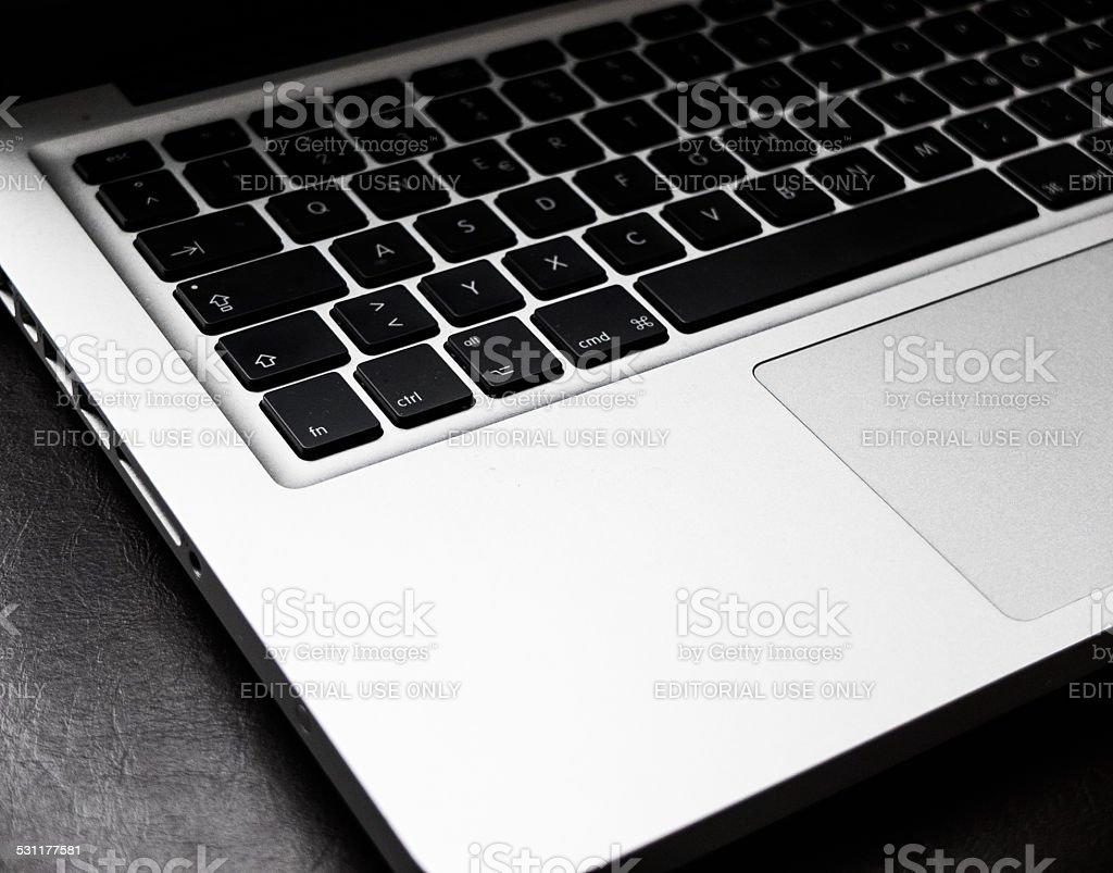 Apple MacBook Pro stock photo