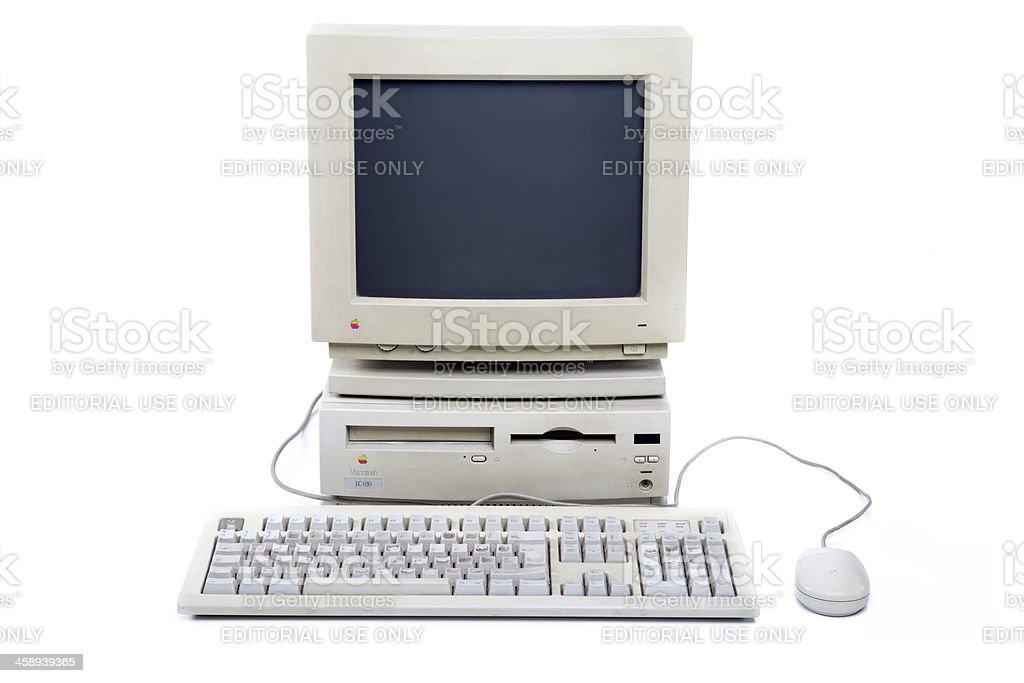 Apple Macintosh LC630 XXXL stock photo