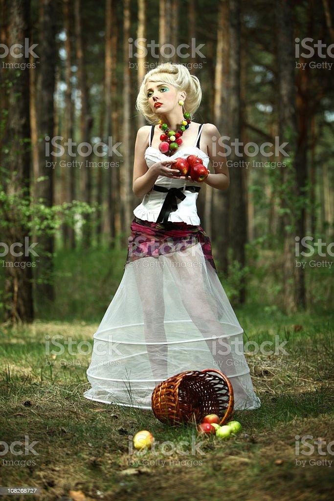 apple maiden royalty-free stock photo