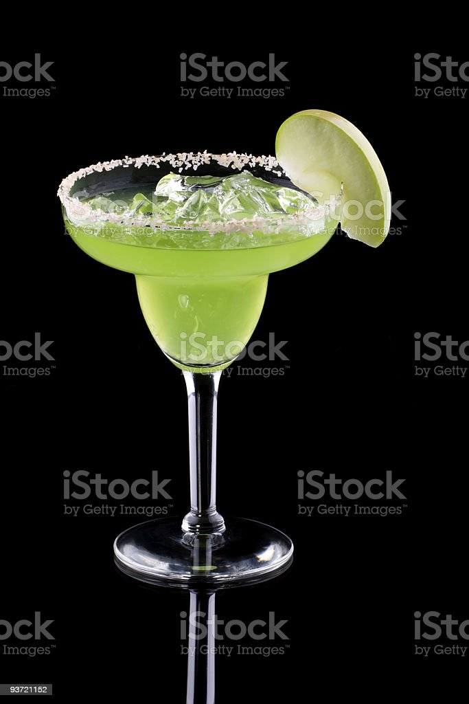 Apple Margarita  - Most popular cocktails series royalty-free stock photo