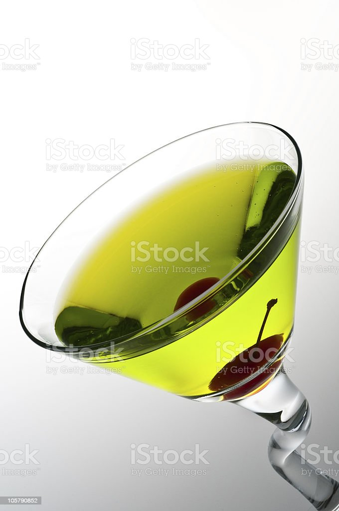 Apple Martini royalty-free stock photo