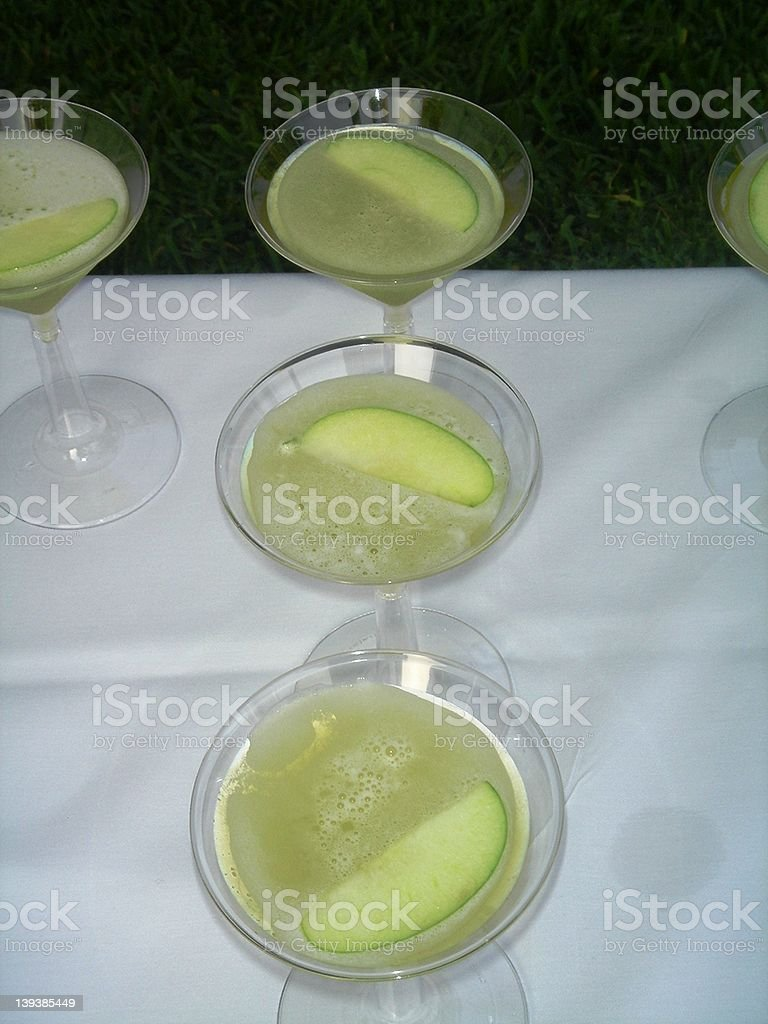 apple martini royalty-free stock photo