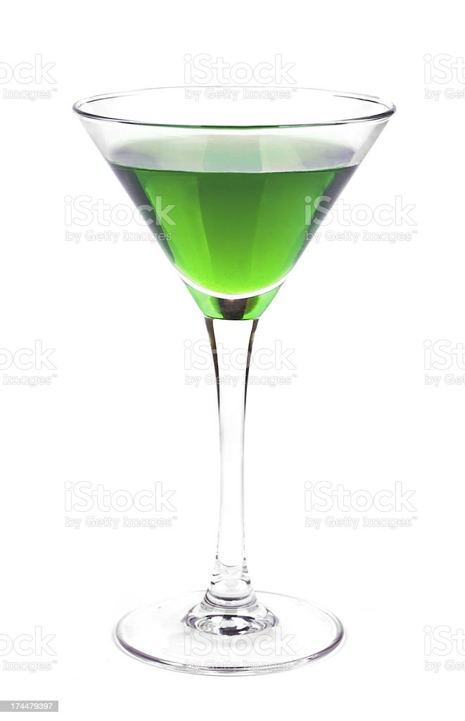 Apple Martini stock photo