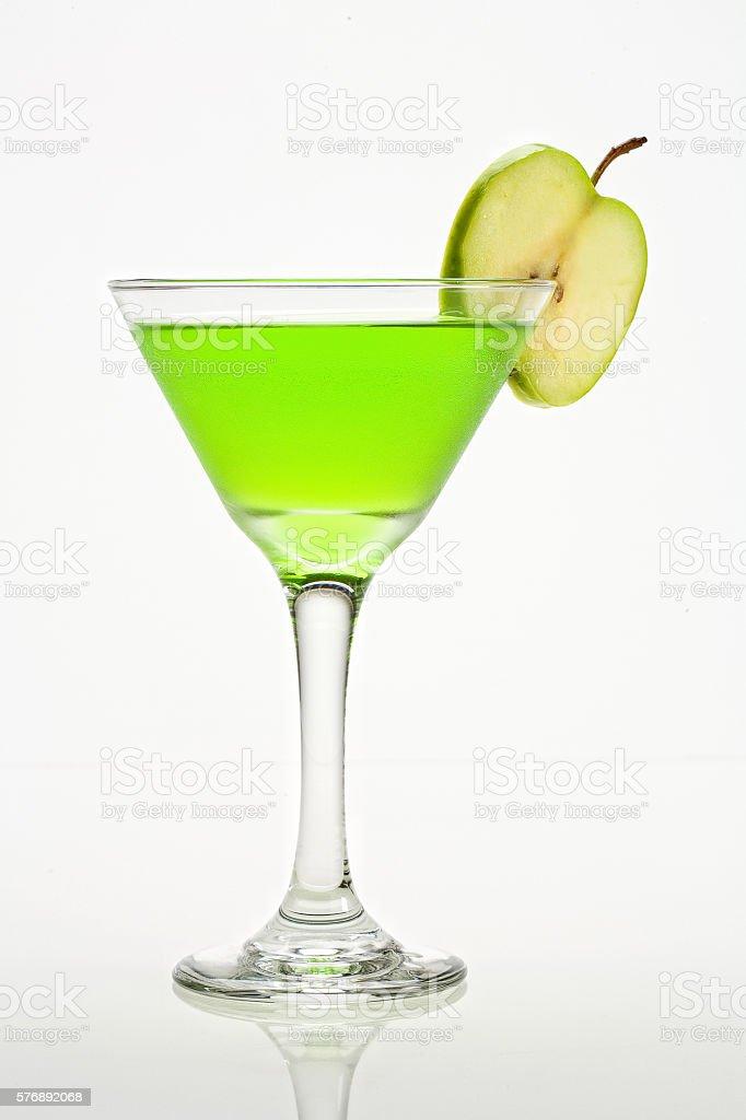 Apple Martini stock photo