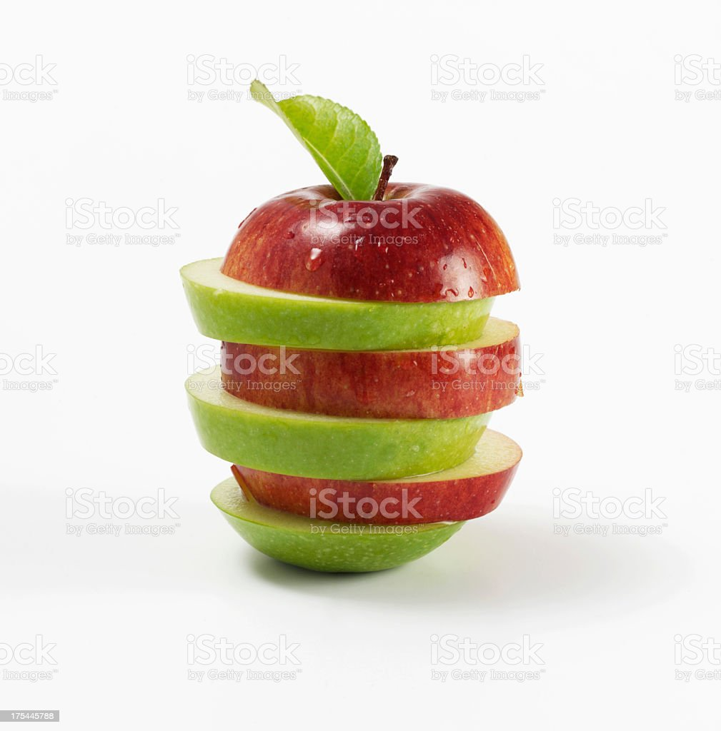 Apple Mix royalty-free stock photo