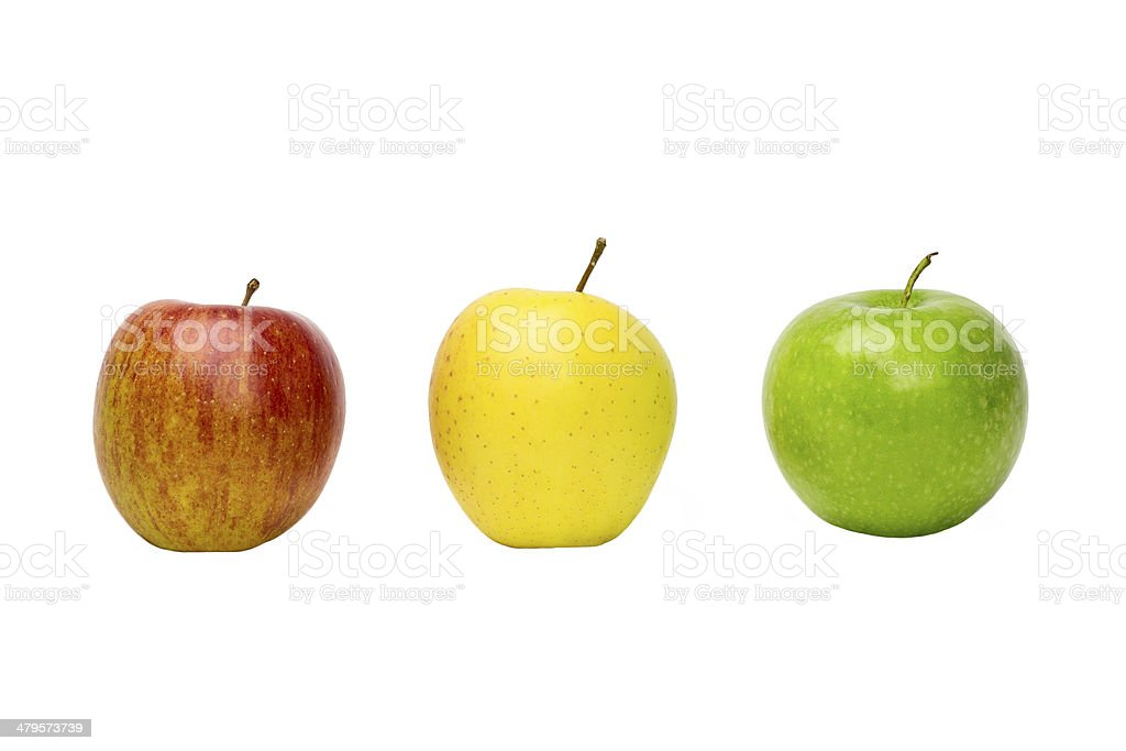 Apfel mix stock photo
