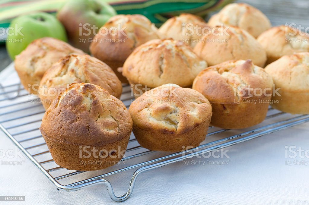 Apple Muffins royalty-free stock photo