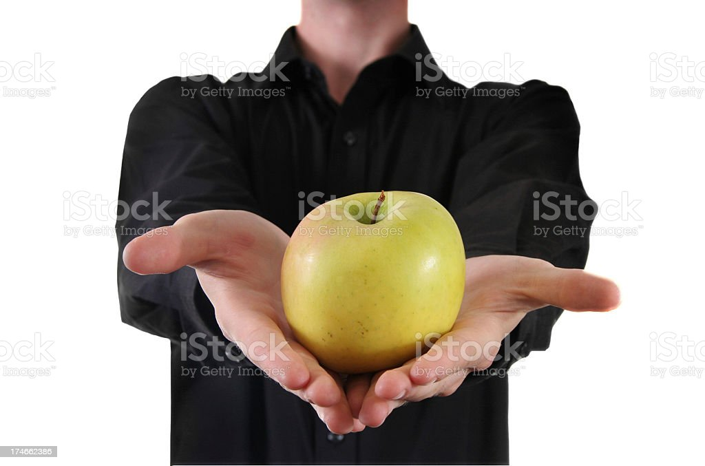 Apple offer. stock photo