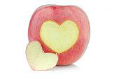 Apple on isolated