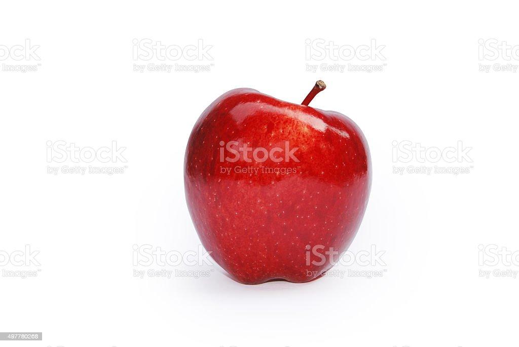 Apple on White Back Ground stock photo