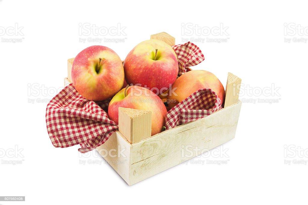 apple on white stock photo