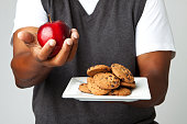 Apple or cookies your choice