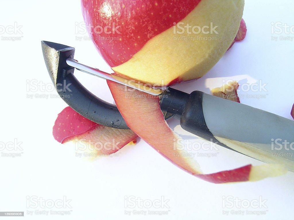 Apple Peel royalty-free stock photo