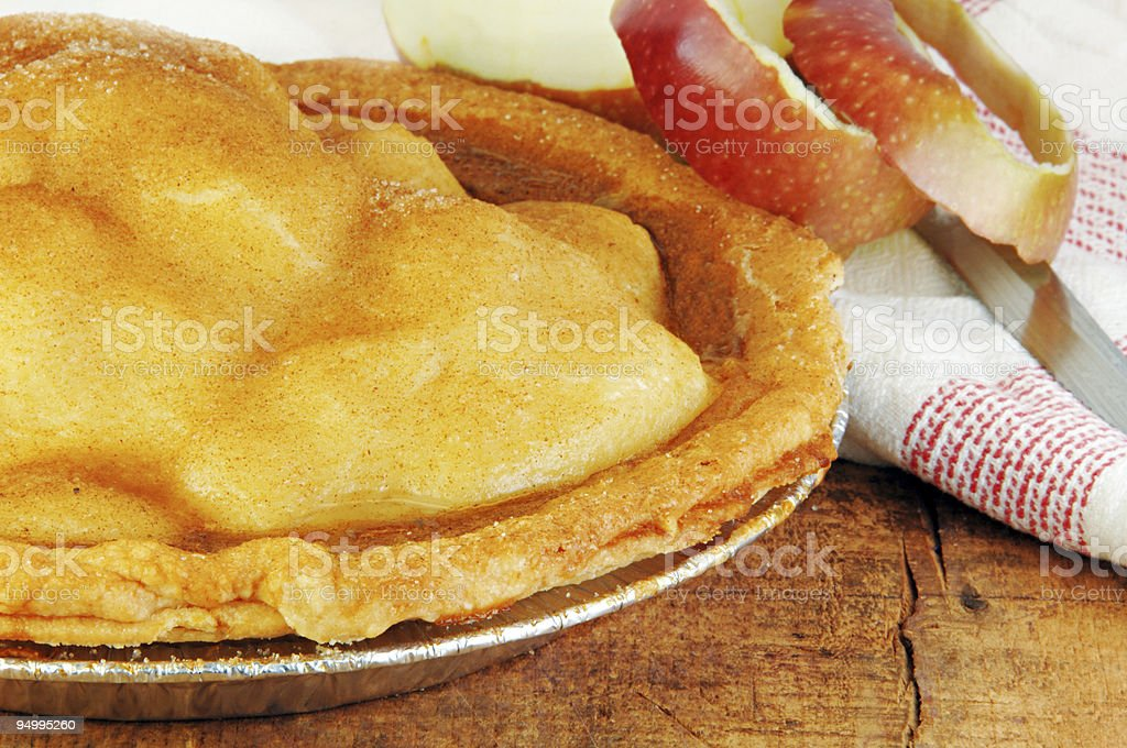 Apple Pie Fresh from the Oven royalty-free stock photo