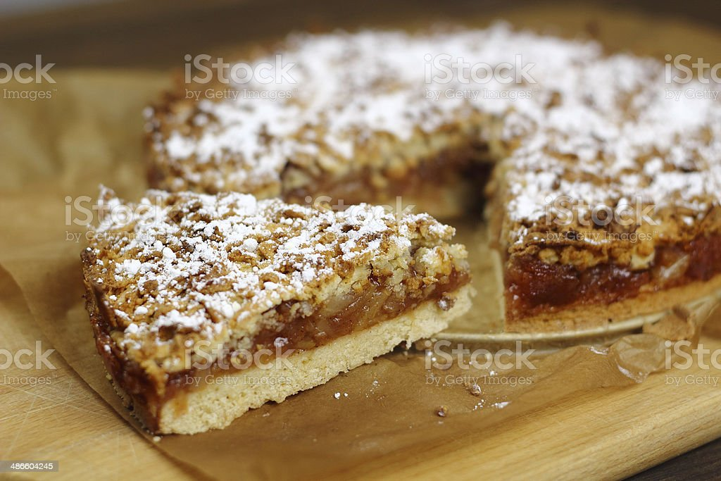 Apple Pie - Freshly Baked stock photo