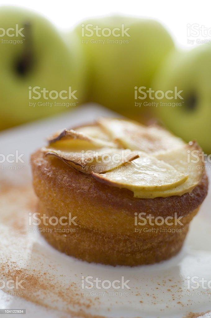 Tourte aux pommes photo libre de droits