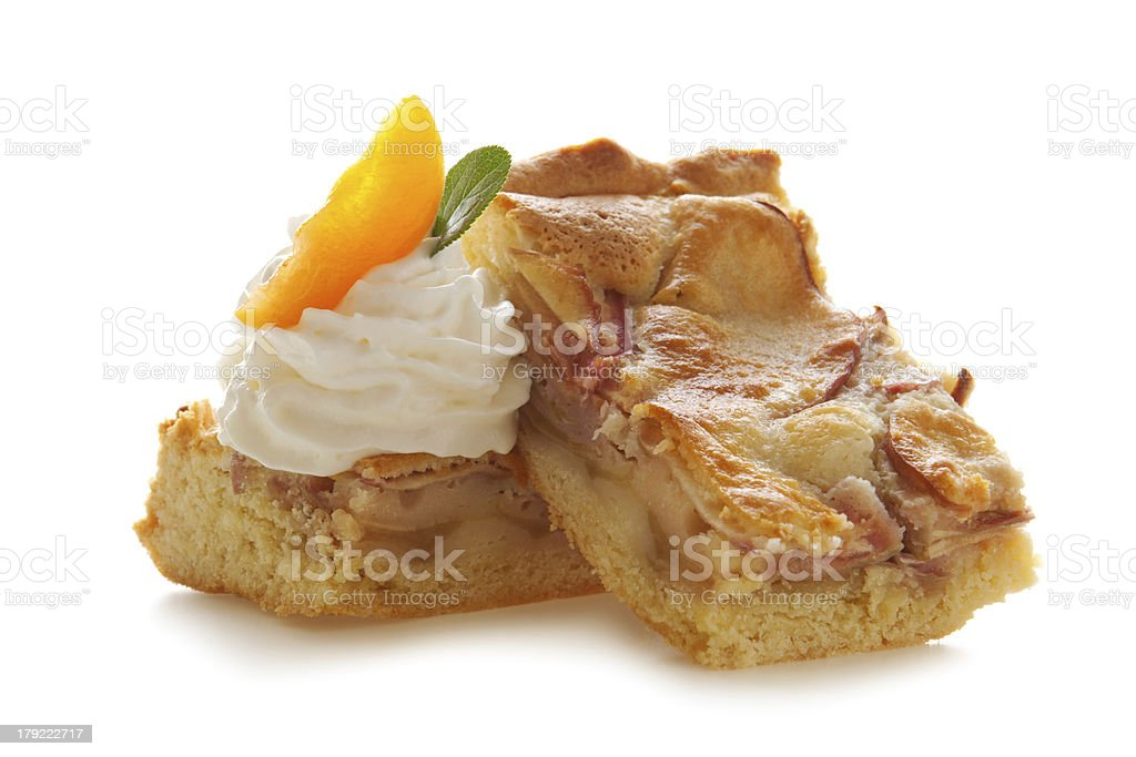 Apple pie. royalty-free stock photo