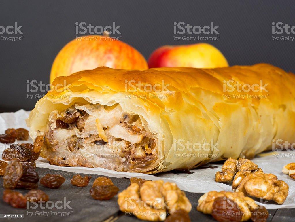 Pastel de manzana foto de stock libre de derechos