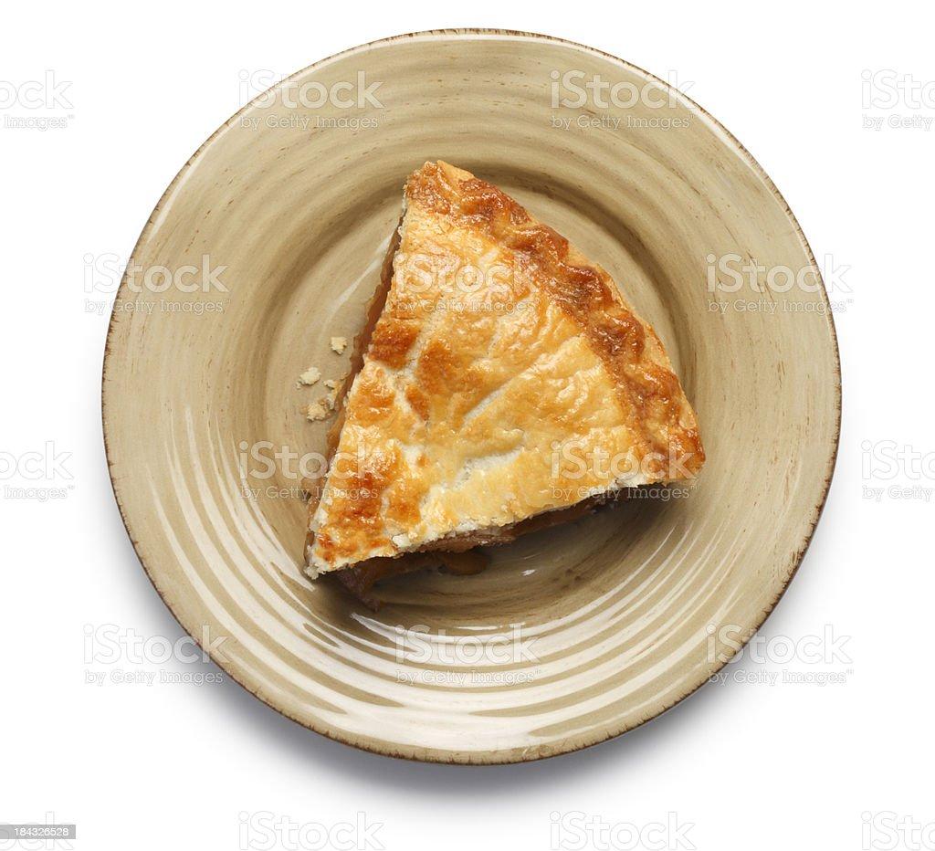 Apple Pie Slice stock photo